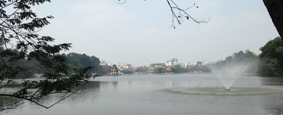 Hoan Kiem Lake in Hanoi, Vietnam - Authentic Gems - Travel blog by Hannah Cackett
