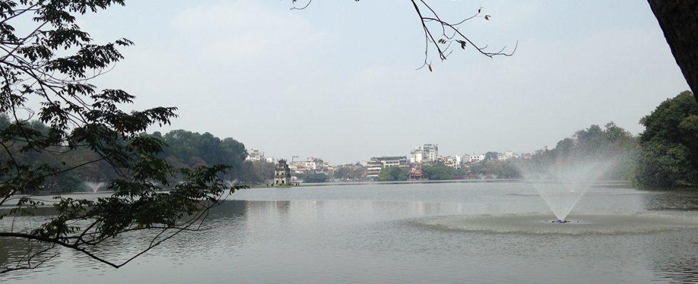 Hoan Kiem Lake in Hanoi, Vietnam - Authentic Gems - Travel blog by Hannah Cackett