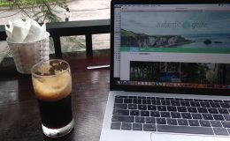 Working from cafe in Hanoi, Vietnam - Authentic Gems - Travel blog by Hannah Cackett
